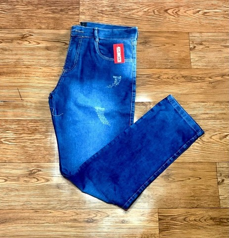 Calça Jeans masculina c/ lycra - Foto 5