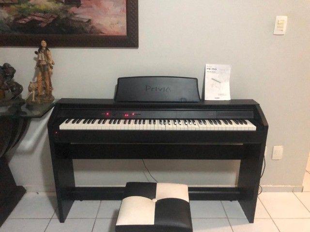 Piano Eletronico Casio Privia PX-750 - Foto 6
