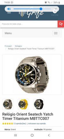 Relógio orient mbttc007  - Foto 2