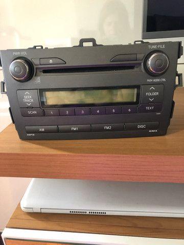 Vendo rádio original  Toyota 2009 a 2015