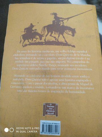 Livro; Dom Quixote Miguel de Cervantes - Foto 2
