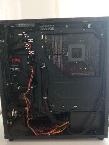 CPU Gamer I5 9600K 9ª geração 16GB(2x8) RAM, 500GB HD + 120GB SSD - Foto 2