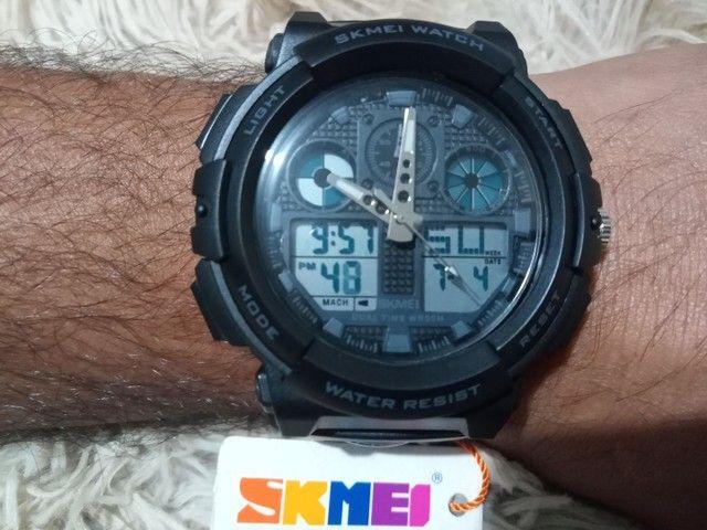 Relógio masculino esportivo digital - Foto 3