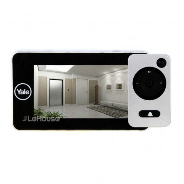 Olho Mágico Digital Câmera Segurança Auto Imaging Yale
