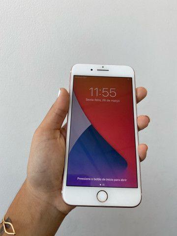 iPhone 7plus rose 128gb - Foto 2