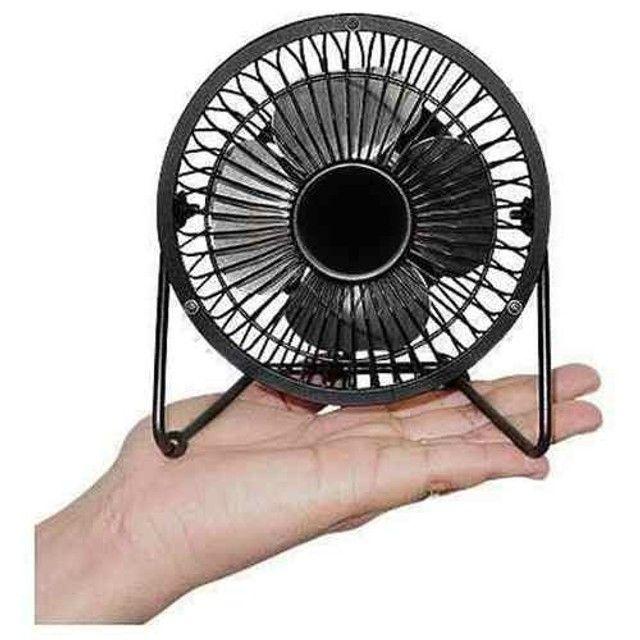 Mini Ventilador Usb De Mesa Ns-0492 - Foto 2