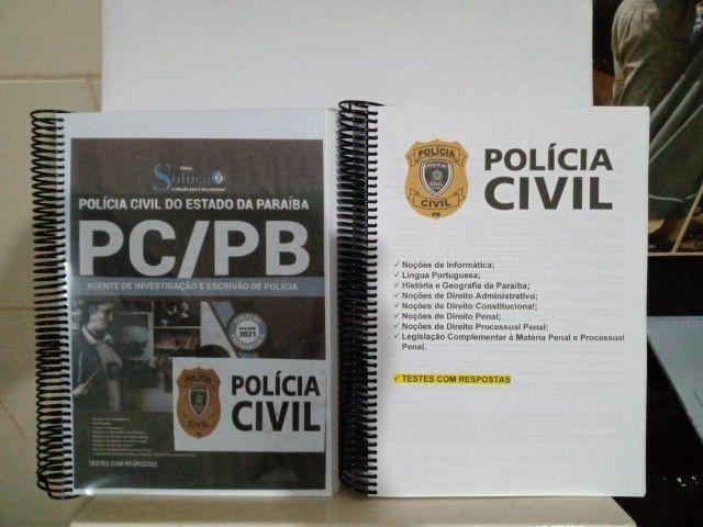 Apostila do Concurso da PCPB 2021 - Agente e Escrivão de Polícia - Foto 2