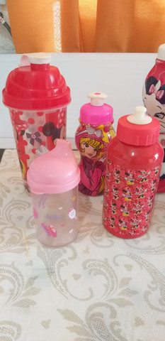 10 mamadeiras e garrafas de água infantis  - Foto 4