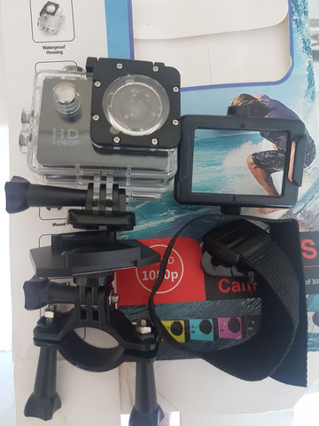 Camera Sport Cam 1080p Full HD - Foto 2