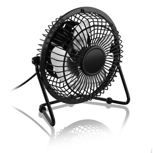 Mini Ventilador Usb De Mesa Ns-0492 - Foto 3