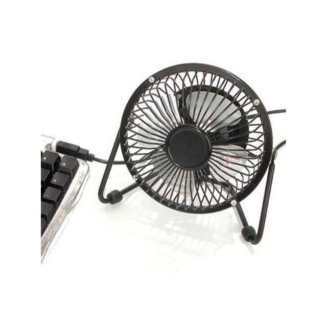 Mini Ventilador Usb De Mesa Ns-0492