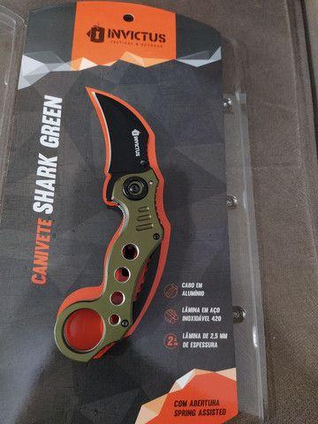 Canivete invictus shark Green