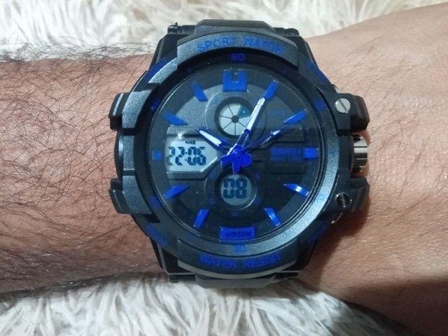 Relógio masculino esportivo digital - Foto 5