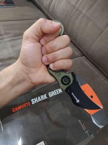 Canivete invictus shark Green  - Foto 2