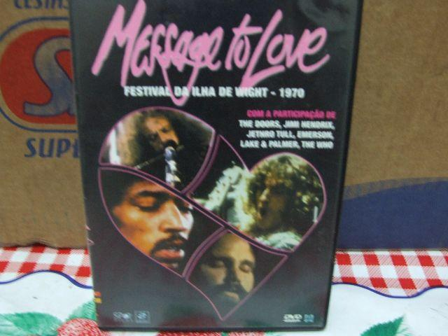 Dvd ilha whright message to love