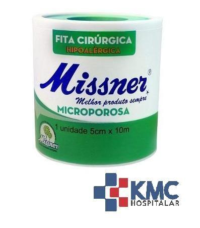 Fita Cirúrgica Microporosa Hipoalergenica 5cm X 10m- Branca