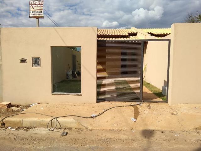 Casa 2 quartos pronta para morar, localizada em Juatuba