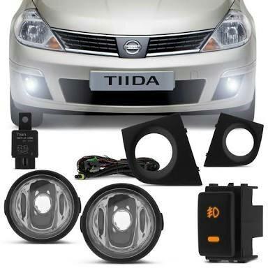 Kit Farol de Milha Nissan Tiida