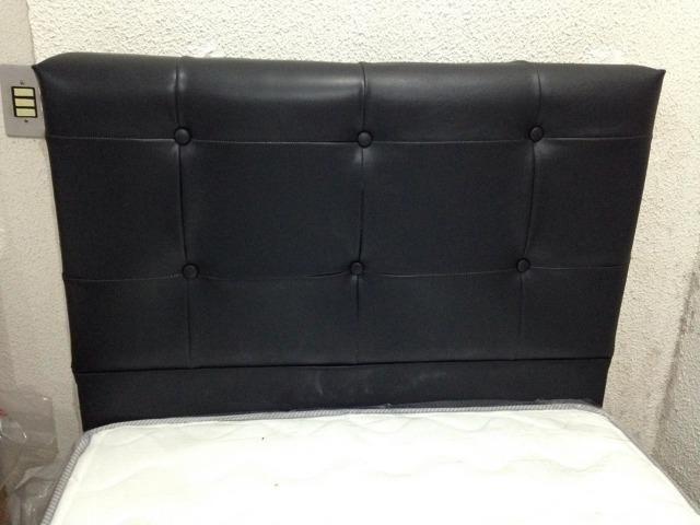 Cabeceira estofada Conforto Total Duquesa solteiro 90 cm - Foto 3