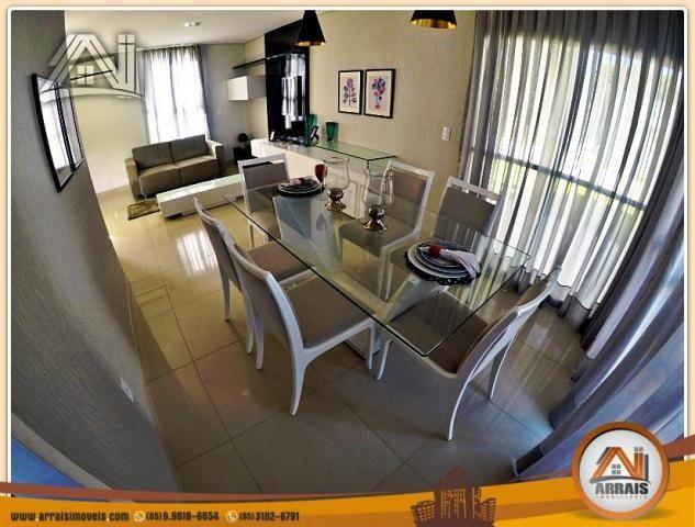 Vendo casa duplex em condomínio c/ 3 suítes no Eusébio - Foto 8