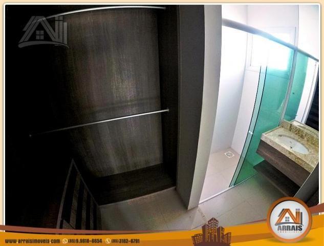 Vendo casa Duplex em Condomínio c/ 3 suites no Eusébio - Foto 13