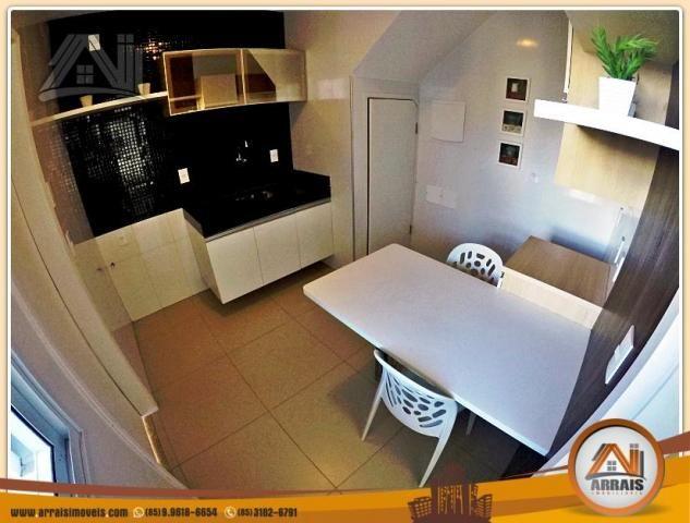 Vendo casa duplex em condomínio c/ 3 suítes no Eusébio - Foto 10
