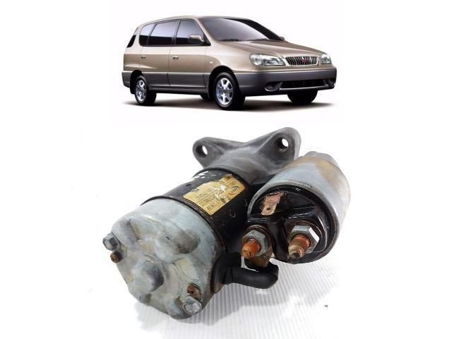 Motor De Arranque Kia Carens 2001 Com Garantia 36100-2Y000