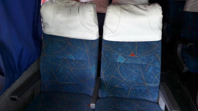Bancada de ônibus 0400 rodoviário