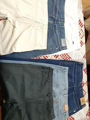 Calças masculinas novas/semi-marcas Tam.50 ao 64, leia o anúncio