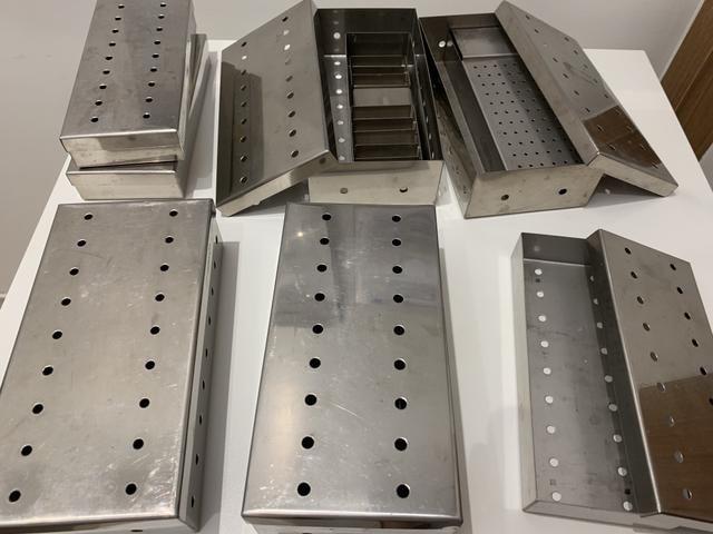 Lote de estojo perfuradora para instrumental esterilização - Foto 2