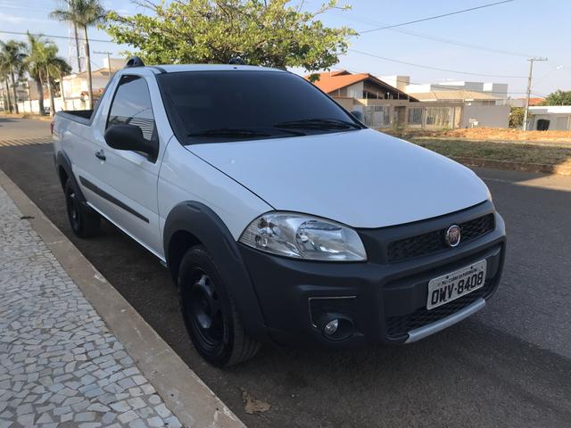 Fiat - strada working 1.4 cs completa - Foto 2