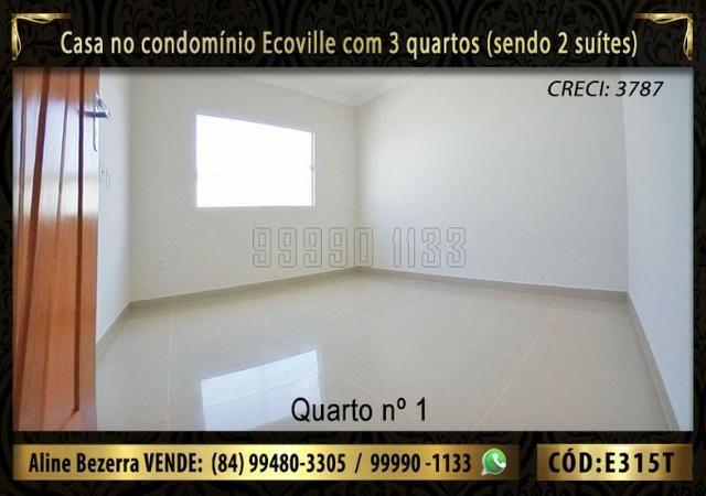 Oportunidade, casa no Ecoville com 3 quartos sendo 2 suítes, aceita financiamento - Foto 7
