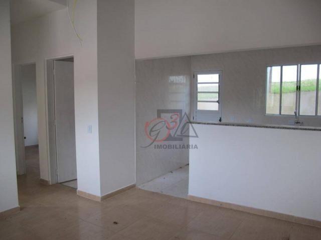 Casa nova 2 dormitorios, 1 suite, 2 vagas, piscina, em condominio Km 44 da Raposo. - Foto 6