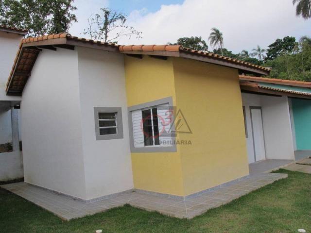 Casa nova 2 dormitorios, 1 suite, 2 vagas, piscina, em condominio Km 44 da Raposo. - Foto 2