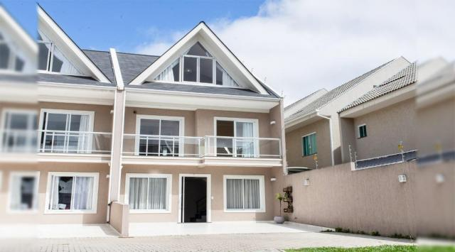 Sobrado com 3 dormitórios à venda, 240 m² por r$ 730.000,00 - boqueirão - curitiba/pr