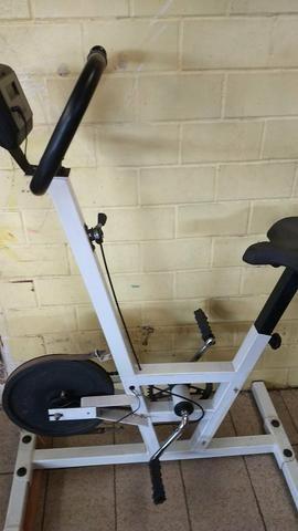 Bicicleta ergométrica e um aparelho act! home fitness caloi - Foto 2