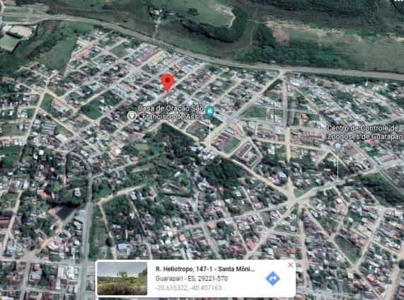 Terreno plano de 360m², Escriturado e Registrado, no Bairro Santa Mônica. Paralela a Rua d - Foto 5