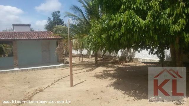 Lindo Sitio com 6.000m, com duas casas(sede),churrasqueira a 30km de natal em Macaiba/RN - Foto 12