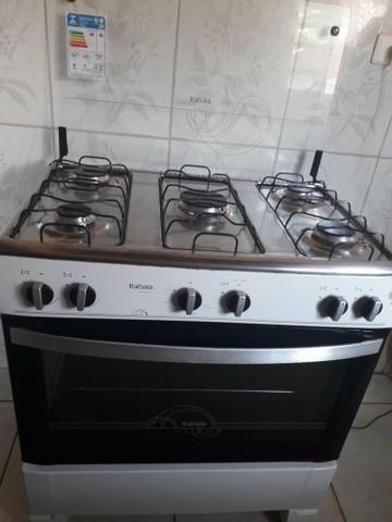 Fogão 5 bocas , com 6 meses de uso, forno usado apenas 2 vezes - Foto 2