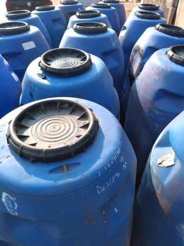 Tambor plástico 220L tipo azeitona