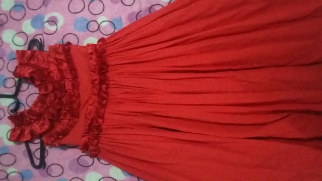 Vestido de festa veste de 7 a 8 anos - Foto 3
