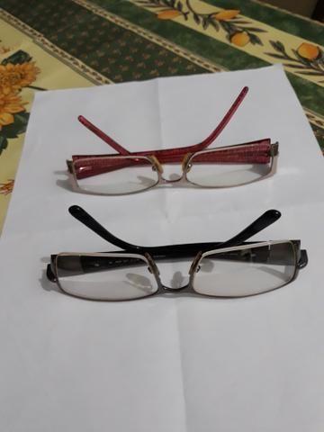 Vendo duas armações de óculos de grau
