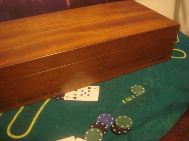 Atari frente madeira na caixa de madeira 2 controles - Foto 3