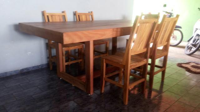 Messa com 6 cadeira nova!