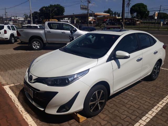 (Concessionaria) TOP de Linha Toyota Yaris Sedan XLS 2019 8,186Km R$ 77.900,00