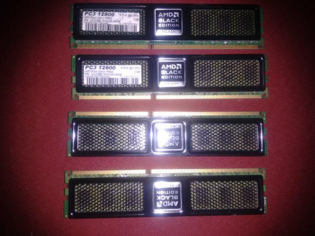 Memorias ddr3 4x2 8.GB 1600Mhz OCZ Black Edition - Foto 4