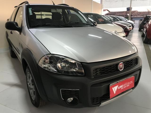 Fiat/Strada Working Hard 1.4 3portas Completo!!! - Foto 2