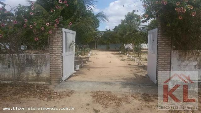 Lindo Sitio com 6.000m, com duas casas(sede),churrasqueira a 30km de natal em Macaiba/RN