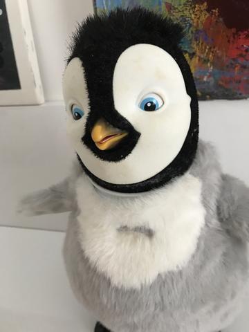 Happy Feet - boneco que canta e dança do filme - Foto 2