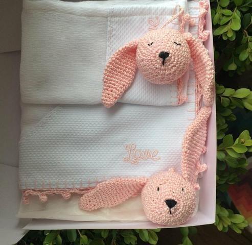 Fraldas Crochê Personalizada